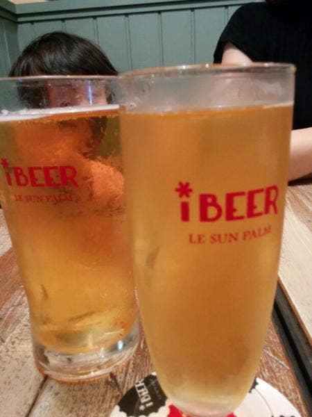 iBEER LE SUN PALM 渋谷ヒカリエ